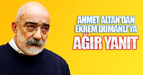 Ahmet Altan'dan Dumanlı'ya ağır yanıt