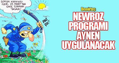 Demirtaş: Newroz programı aynen uygulanacak!