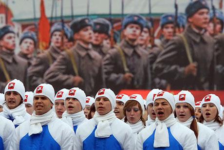 Rus tankları Kızıl Meydan'da! galerisi resim 8