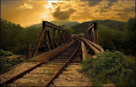 En güzel demiryolu fotoğrafları galerisi resim 9