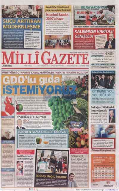 Gazete manşetleri (9 Kasım) galerisi resim 14
