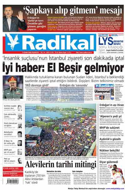 Gazete manşetleri (9 Kasım) galerisi resim 18