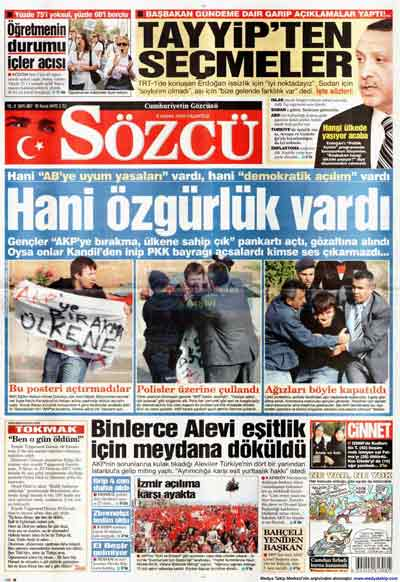 Gazete manşetleri (9 Kasım) galerisi resim 21