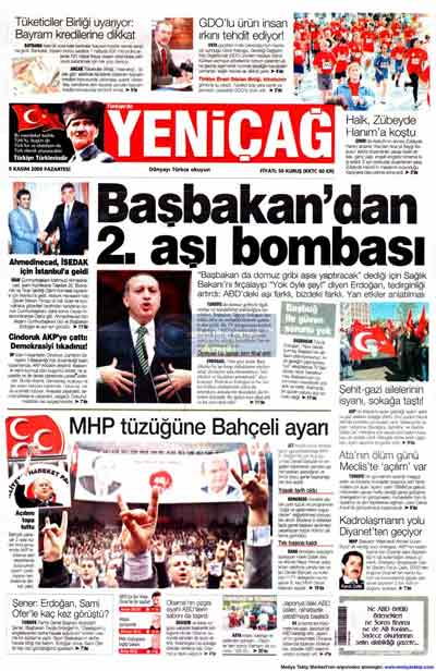 Gazete manşetleri (9 Kasım) galerisi resim 29