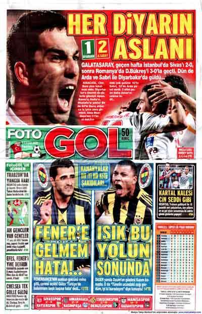 Gazete manşetleri (9 Kasım) galerisi resim 8