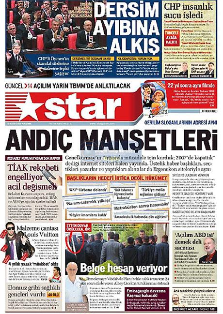 Gazetelerin Albay Çiçek manşetleri galerisi resim 12