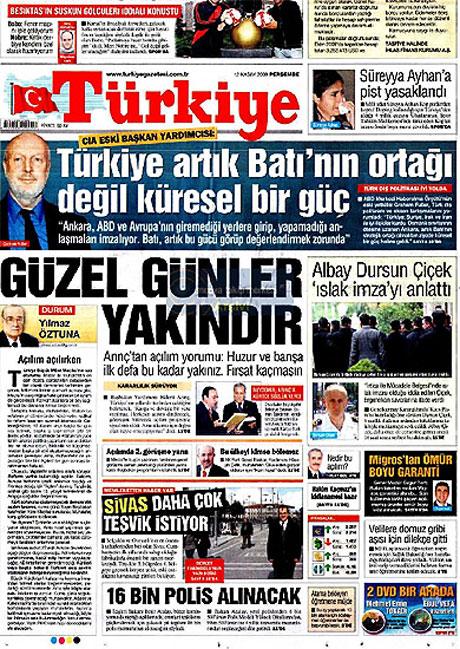 Gazetelerin Albay Çiçek manşetleri galerisi resim 15