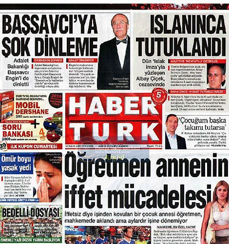Gazetelerin Albay Çiçek manşetleri galerisi resim 6