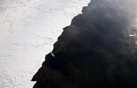 Petermann buzulu böyle eriyor galerisi resim 1