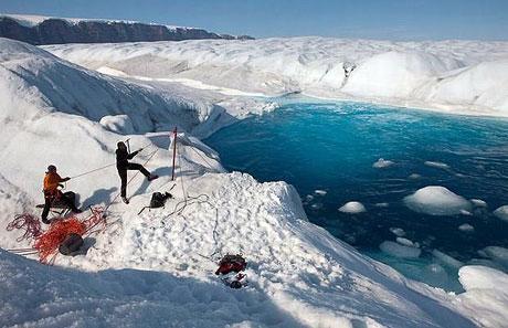 Petermann buzulu böyle eriyor galerisi resim 4