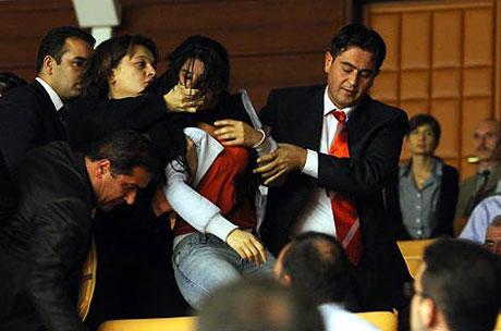 Meclis'teki tarihi günün fotoğrafları! galerisi resim 22