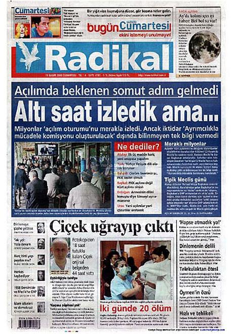 Gazetelerin açılım manşetleri galerisi resim 3