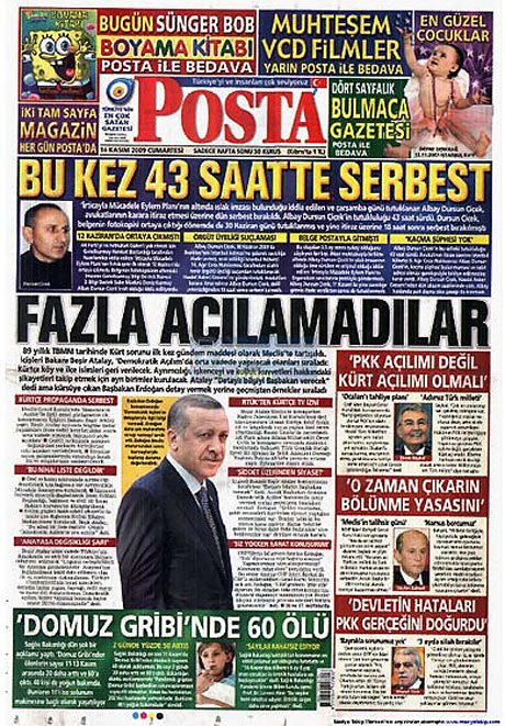 Gazetelerin açılım manşetleri galerisi resim 7