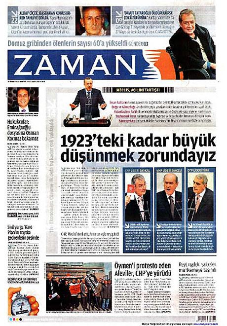 Gazetelerin açılım manşetleri galerisi resim 8
