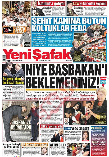 Gazete manşetleri (15 Kasım) galerisi resim 21