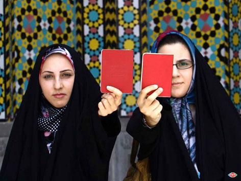 İran'da Seçim galerisi resim 6