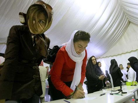 İran'da Seçim galerisi resim 8