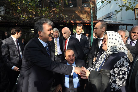 Cumhurbaşkanı halkla çay içti! galerisi resim 8