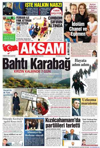 Gazete Manşetleri (23 Kasım) galerisi resim 1