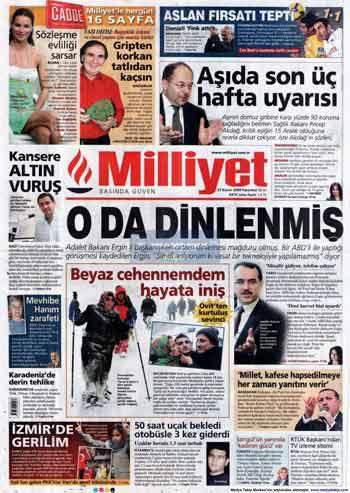 Gazete Manşetleri (23 Kasım) galerisi resim 10
