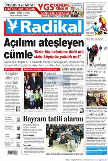 Gazete Manşetleri (23 Kasım) galerisi resim 12