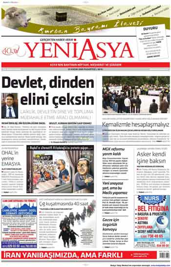 Gazete Manşetleri (23 Kasım) galerisi resim 20