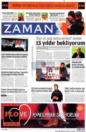 Gazete Manşetleri (23 Kasım) galerisi resim 23