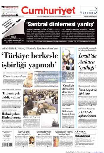 Gazete Manşetleri (23 Kasım) galerisi resim 4