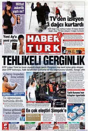 Gazete Manşetleri (23 Kasım) galerisi resim 7