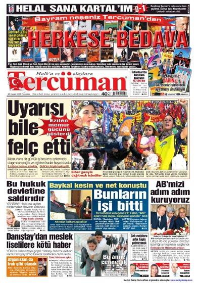 Gazete Manşetleri (26 Kasım) galerisi resim 11
