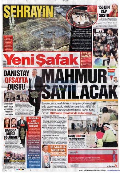 Gazete Manşetleri (26 Kasım) galerisi resim 18