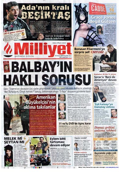 Gazete Manşetleri (26 Kasım) galerisi resim 2