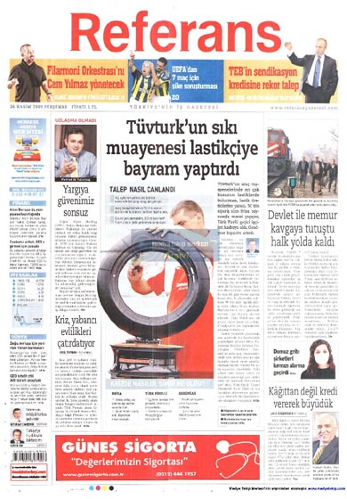 Gazete Manşetleri (26 Kasım) galerisi resim 20