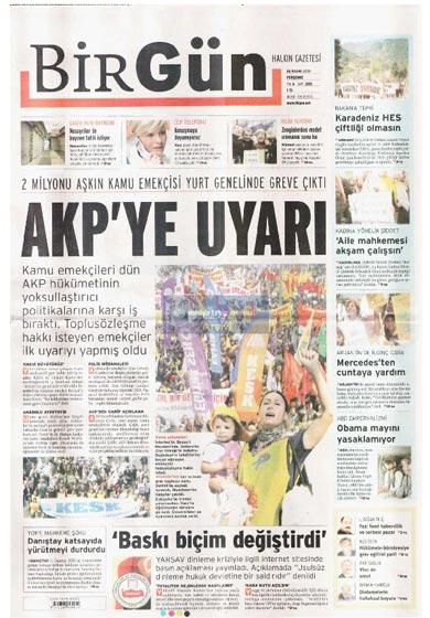 Gazete Manşetleri (26 Kasım) galerisi resim 24