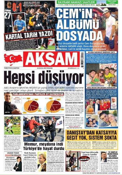 Gazete Manşetleri (26 Kasım) galerisi resim 4