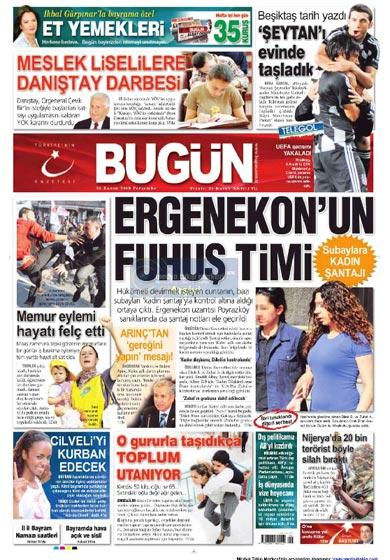Gazete Manşetleri (26 Kasım) galerisi resim 5