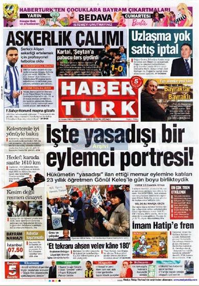 Gazete Manşetleri (26 Kasım) galerisi resim 7