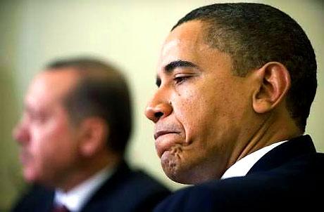 Obama-Erdoğan görüşmesinden kareler galerisi resim 27