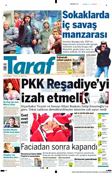 Gazete Manşetleri (14 Aralık) galerisi resim 1