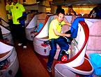 THY'nin 'Barça'yı taşıdığı uçak!