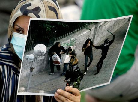 İran'da Seçim Gösterileri galerisi resim 1
