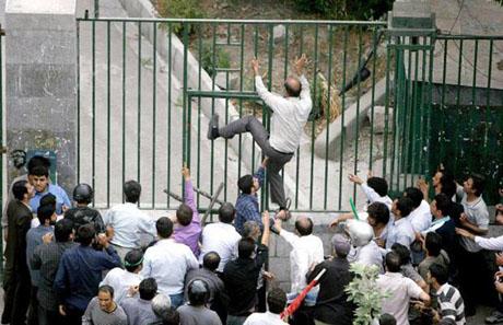 İran'da Seçim Gösterileri galerisi resim 8