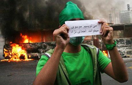 İran'da Seçim Gösterileri galerisi resim 9
