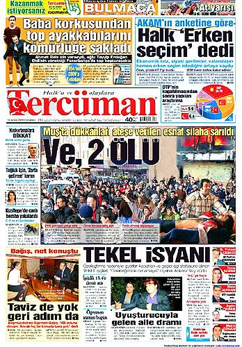 Gazete Manşetleri (16 Aralık) galerisi resim 14