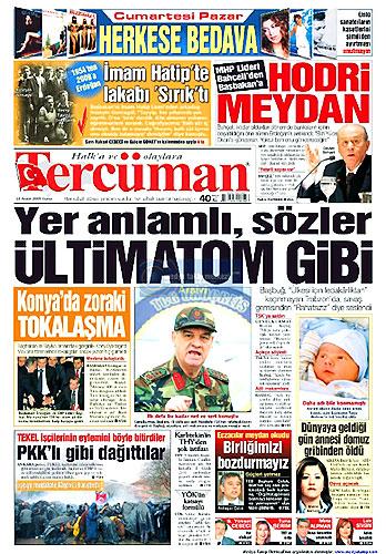 Gazete Manşetleri (18 Aralık) galerisi resim 15