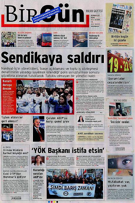 Günün Gazete Manşetleri (20 Aralık) galerisi resim 2