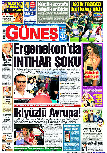 Günün Gazete Manşetleri (21 Aralık) galerisi resim 14