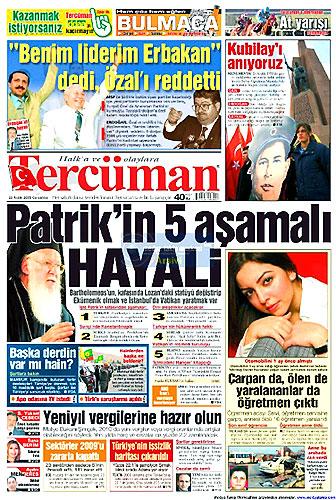 Günün Gazete Manşetleri (23 Aralık) galerisi resim 19