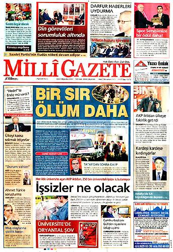 Günün Gazete Manşetleri (23 Aralık) galerisi resim 25