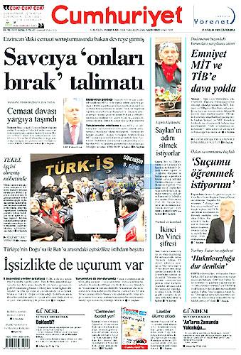 Günün Gazete Manşetleri (23 Aralık) galerisi resim 8